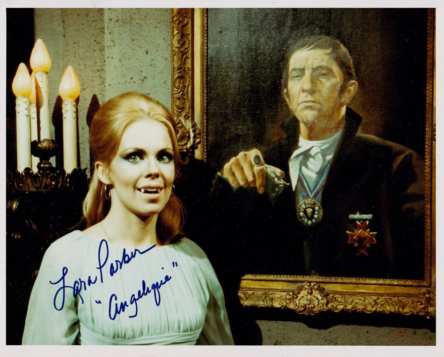 "Lara Parker ""Angelique"" Dark Shadows hand-signed auto. photo $19.99 FREE ship"