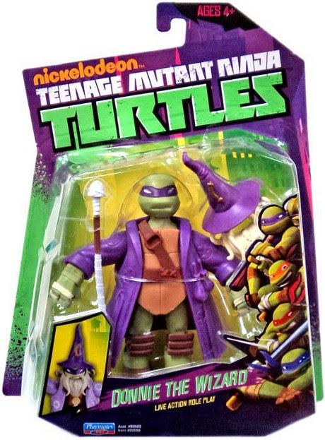 JUGUETES - LAS TORTUGAS NINJA  Donnie The Wizard | Donatello El Mago | Figura - Muñeco Teenage Mutant Ninja Turtles | TMNT | Nickelodeon  Producto Oficial | Playmates | A partir de 4 años