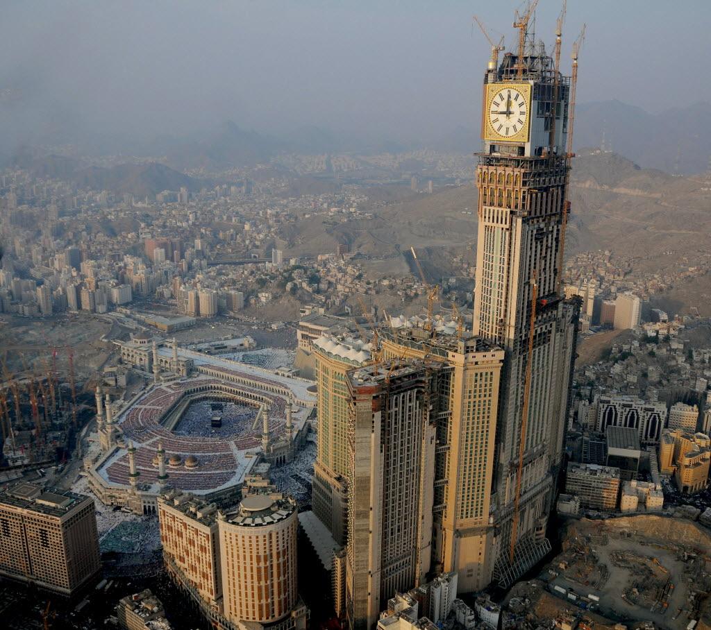 clock2 - Makkah Tower , Saudi Arabia
