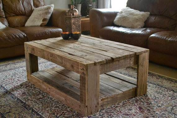 Vieillir Bois De Palette - Coffee table 99+ Pallet Constructions and furnitures