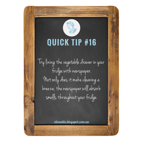 Quick Tip #16 from The Quick Tips Series by Eliza Ellis