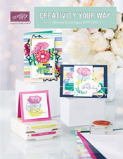 The 2017 - 2018 Stampin'Up! Catalogue.