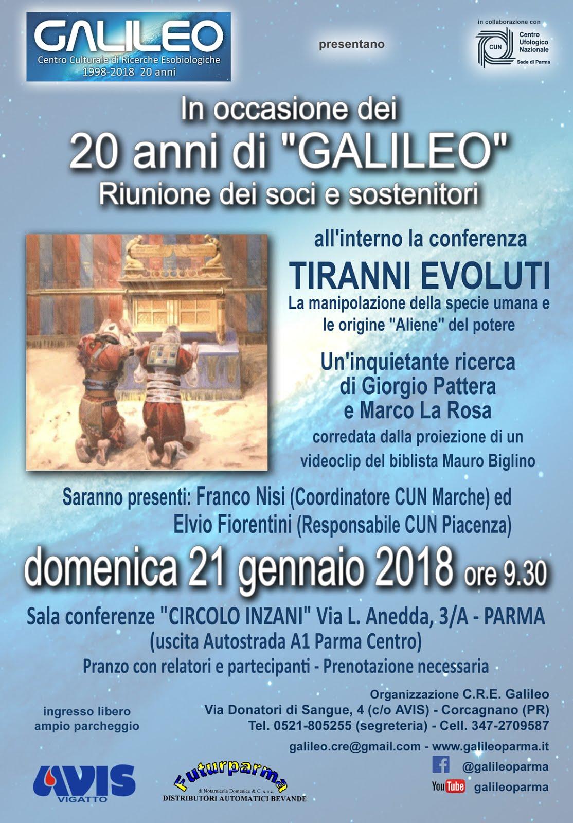 GALILEO: 20 ANNI DI ATTIVITA'