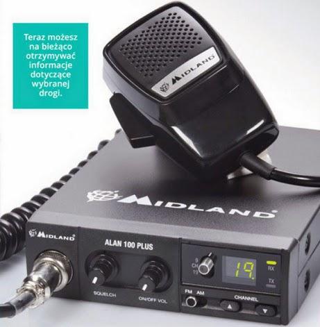 CB Radio Midland Alan 100 Plus z Biedronki