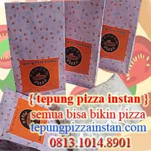 tepung pizza instan dan sehat