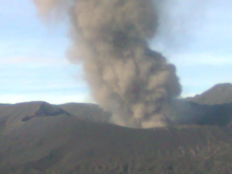 Eruption of Mount Bromo II