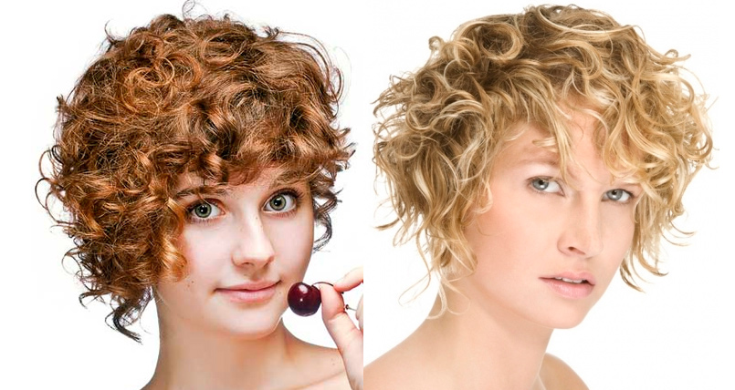 cortes de pelo rizado natural with