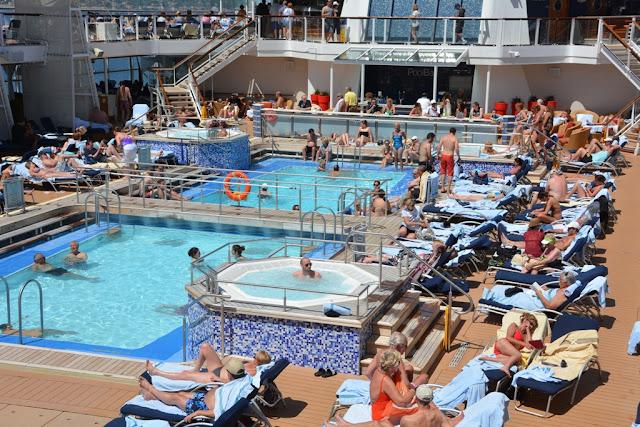 Celebrity Equinox Pool Area