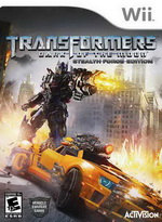 Game  Wii Transformers4