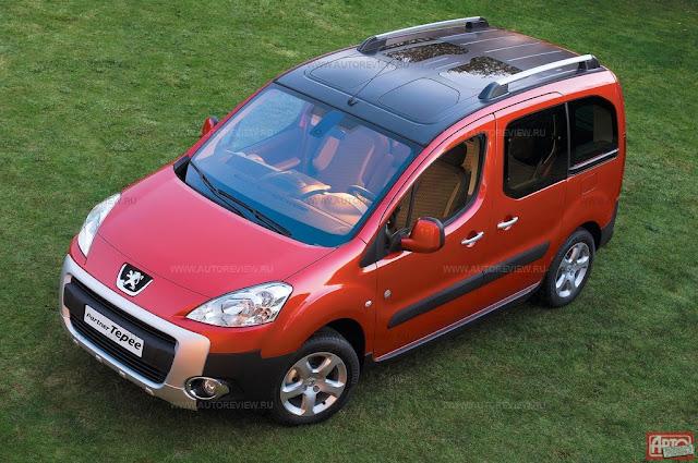 New Peugeot Partner photo