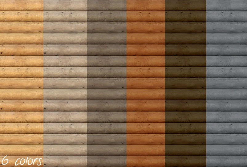 My sims 4 blog log cabin wallpaper by mustluvcatz for Log cabin interior paint colors