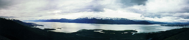 Beagle Channel in the Patagonia