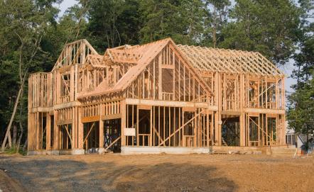 Structure maison en bois
