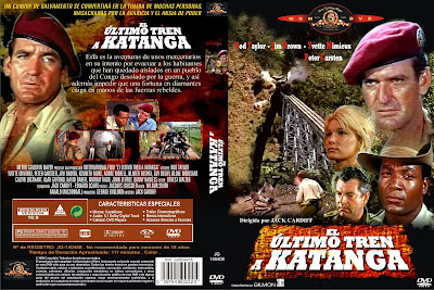 Caratula, cover, dvd:  El último tren a Katanga | 1968 | The Mercenaries (AKA Dark of the Sun)