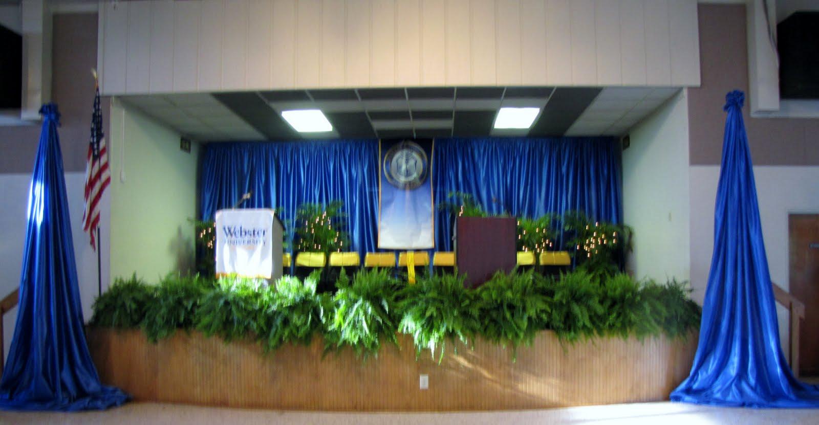 People Event Decorating Company Webster Graduation April 9 2011
