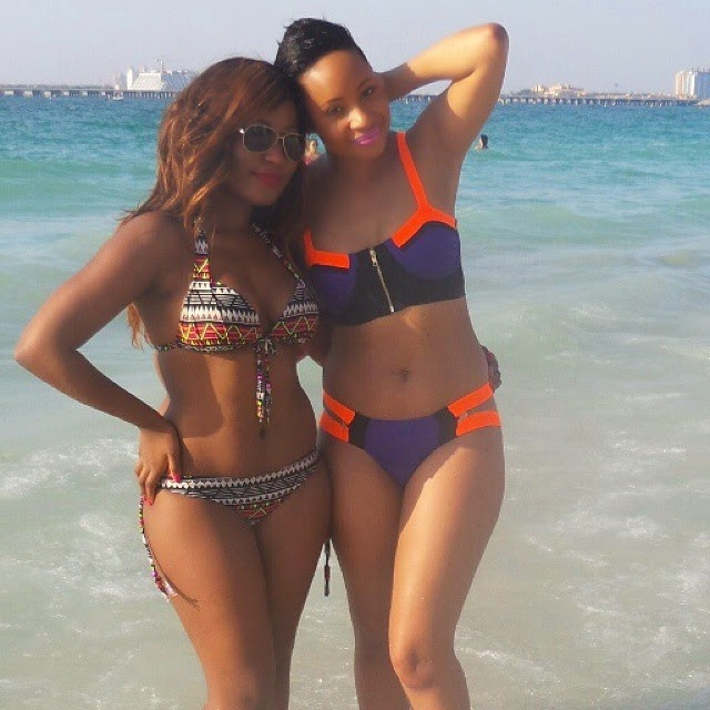 Pokello Nare and Her Sis Flaunts Their Sexy Body