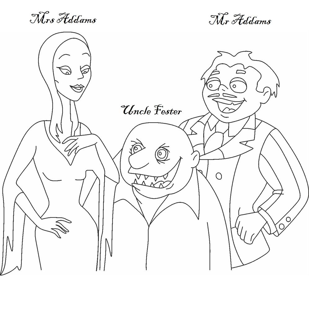Lurch Addams Family Coloring PagesAddamsPrintable Coloring Pages