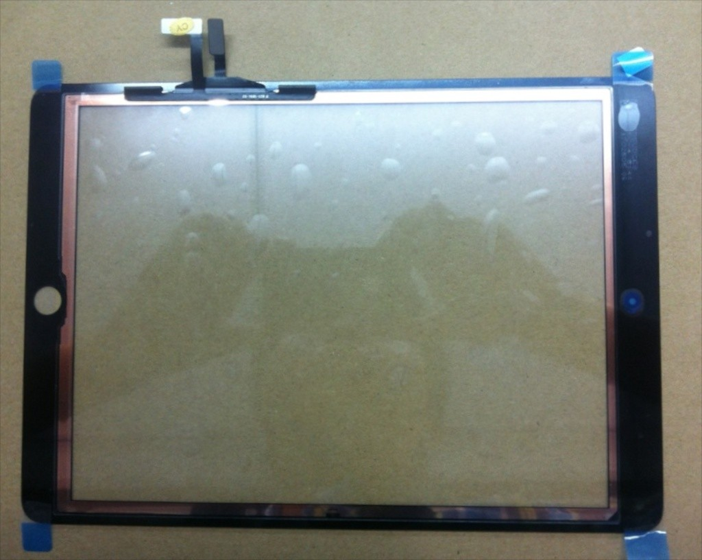Leaked iPad 5 Front Panel Photo