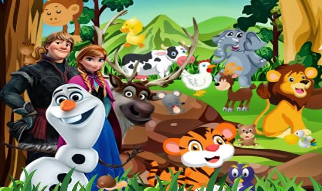 Frozen Orman Hayvanları