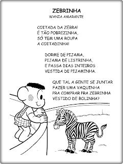 ZEBRINHA - Texto para leitura