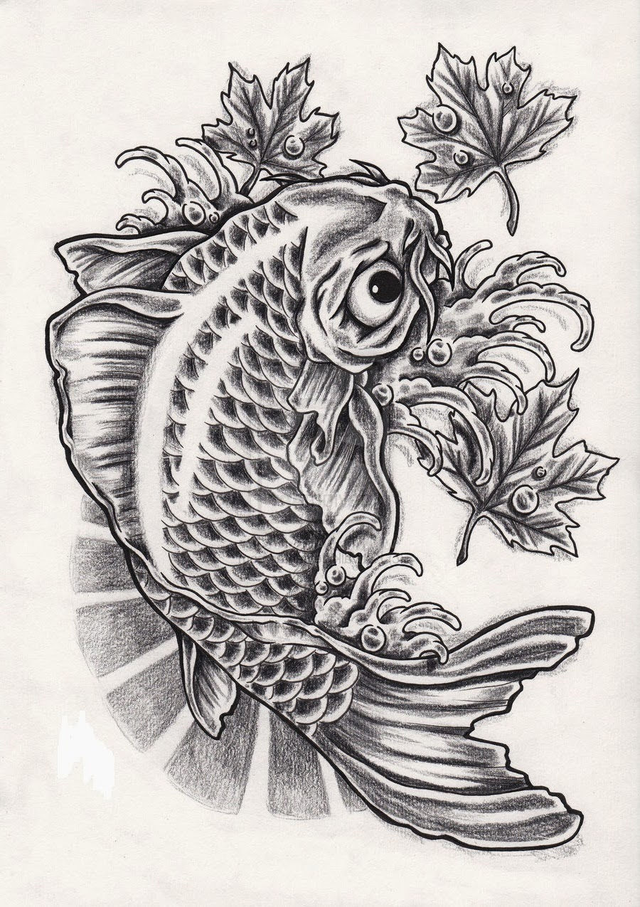 koi fish tattoo designs hair and tattoos. Black Bedroom Furniture Sets. Home Design Ideas