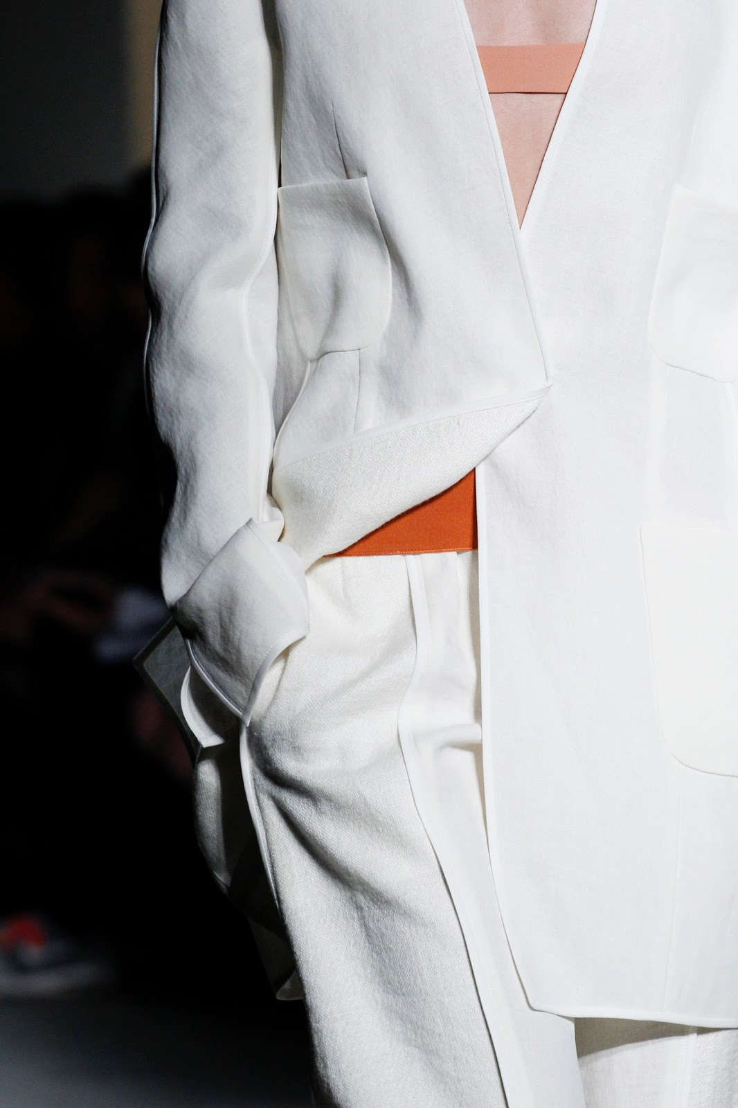 Narciso Rodriguez SS 2016 RTW collection, details and video via fashionedbylove.co.uk british fashion blog