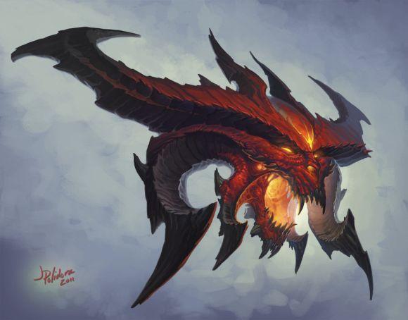 John Polidora ilustrações arte conceitual fantasia games blizzard Blizzcon - Diablo 3