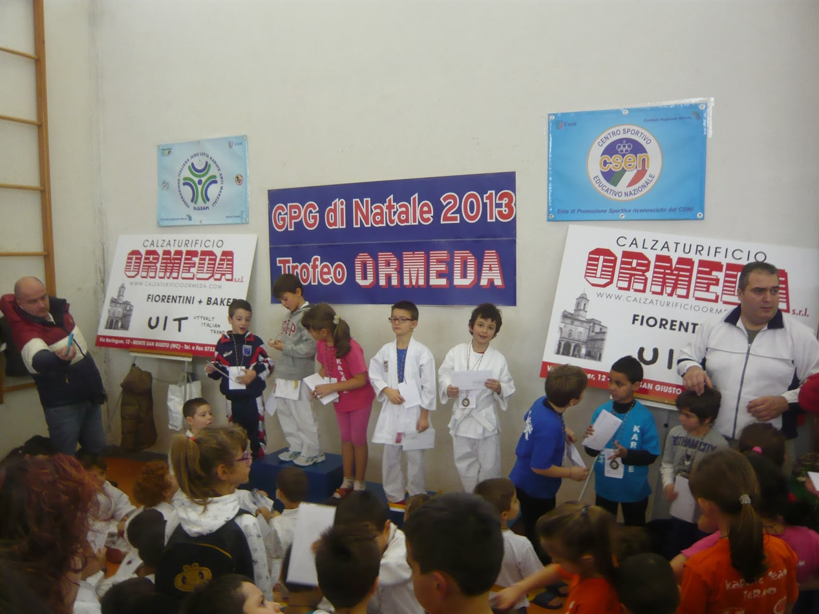 Karate capozucca riccardo fijlkam karate marche trofeo di for Di tommaso arredamenti ostia
