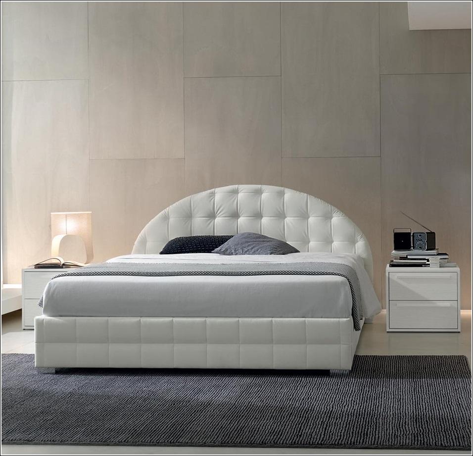 Lits rembourr s pour un look chic votre chambre coucher d cor de maiso - Decor chambre a coucher ...