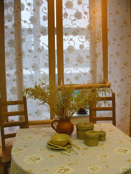 Curtains Design For Kitchen