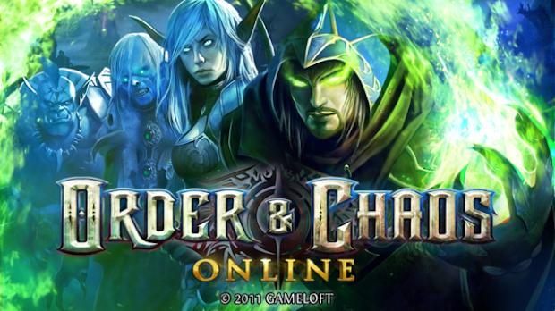 Order & Chaos Online Game mmorpg terbaik terpopuler android