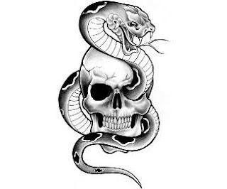 τατουάζ τρόμου, τατουάζ τρένο, τατουάζ μεταφορά, κρανίο τατουάζ, τατουάζ το κακό, τρομακτικά τατουάζ, freaky τατουάζ, τατουάζ καπνό, τατουάζ στον ώμο