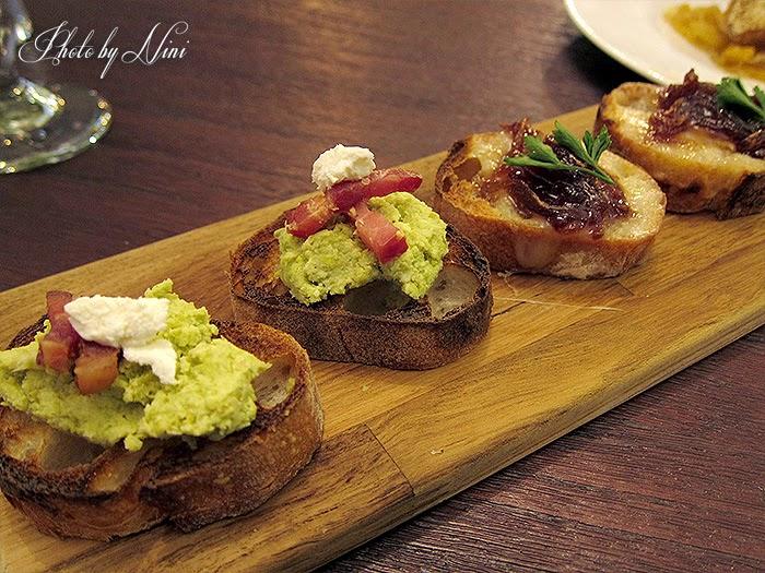 【台北東區新餐廳】 A COMMUNITY Restaurant & Bar。Ricotta起司青豆泥