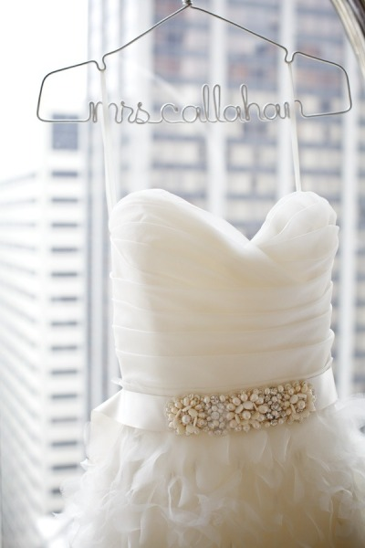 Perchas para vestidos de novia