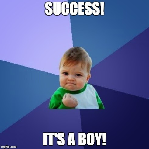 baby boy, success, meme