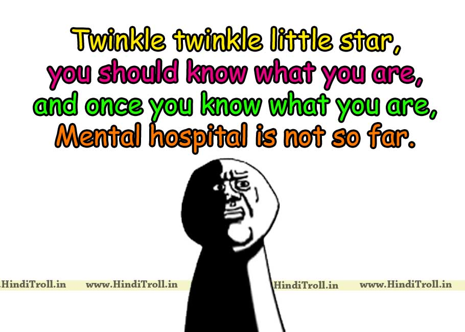 Twinkle Little Star You Should Know What AreFunny Poem English Quotes Wallpaper