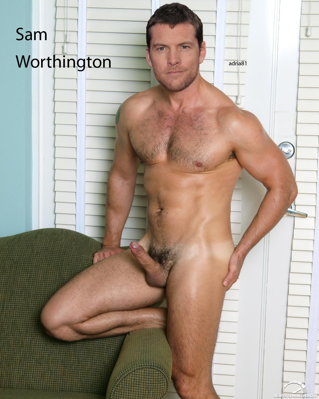 Голый сэм уортингтон фото 201-742