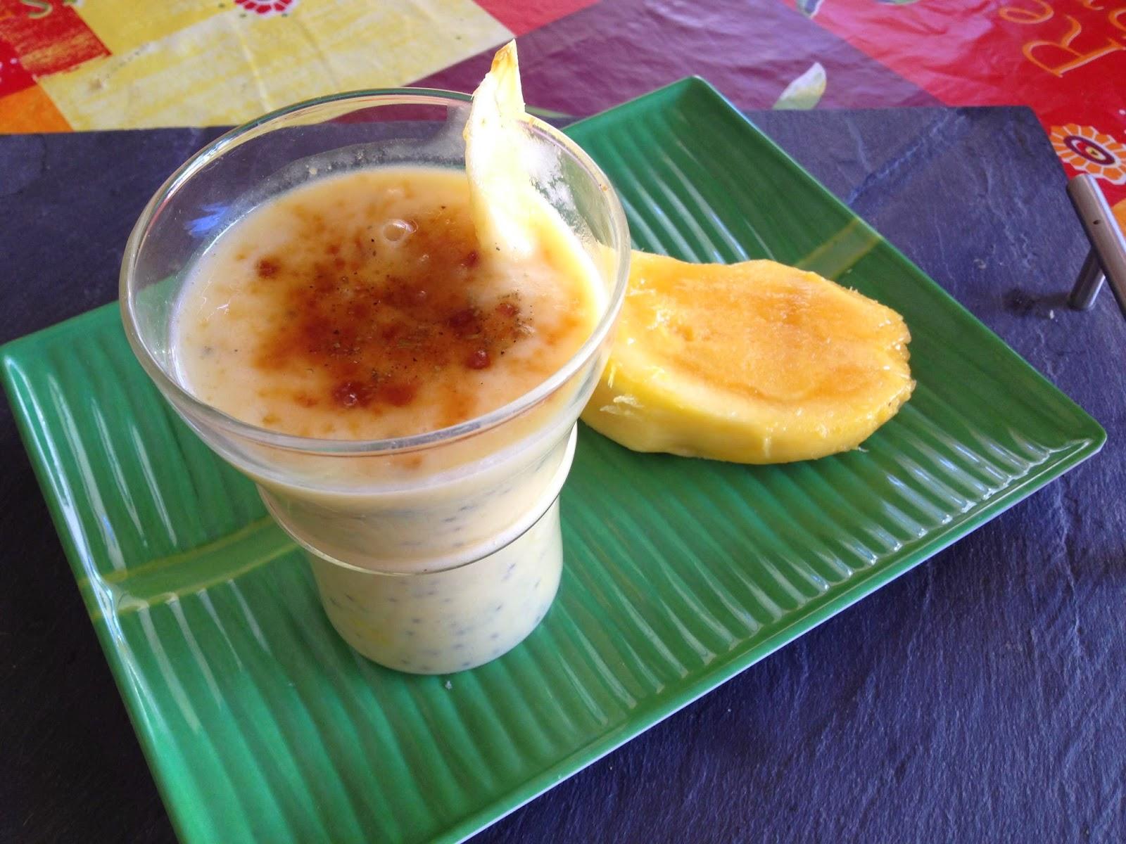 milkshake de mangue fra che aux grains de basilic cardamome et sucre brut arome art de. Black Bedroom Furniture Sets. Home Design Ideas