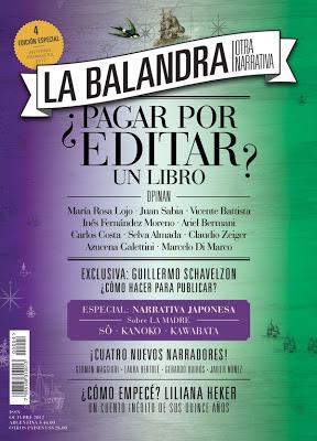 Edición Aniversario de La balanadra -otra narrativa-