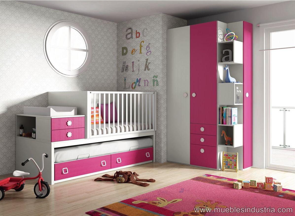 Nuevas cunas convertibles petit industria for Mobiliario dormitorio infantil