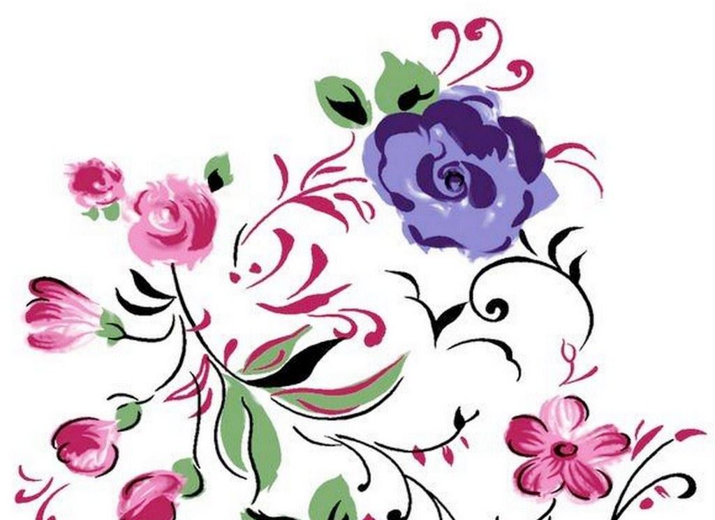 Cuadros pinturas oleos im genes de flores sencillas - Imagenes para cuadros ...