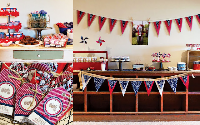 4th of July party idea americana