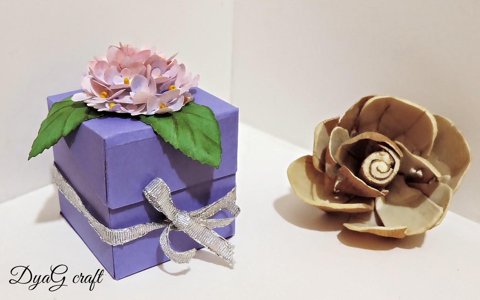 cutii nunta botez hortensia