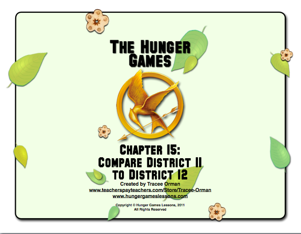 thesis statement on the hunger games
