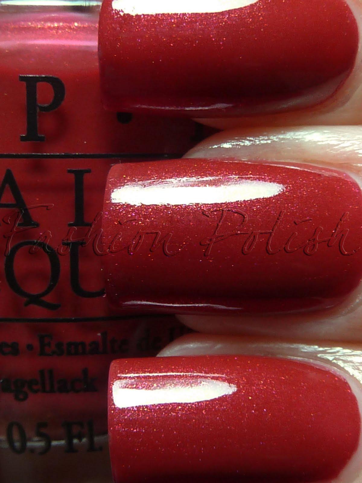 Opi Color To Diner For Misch's Beauty Blog: N...