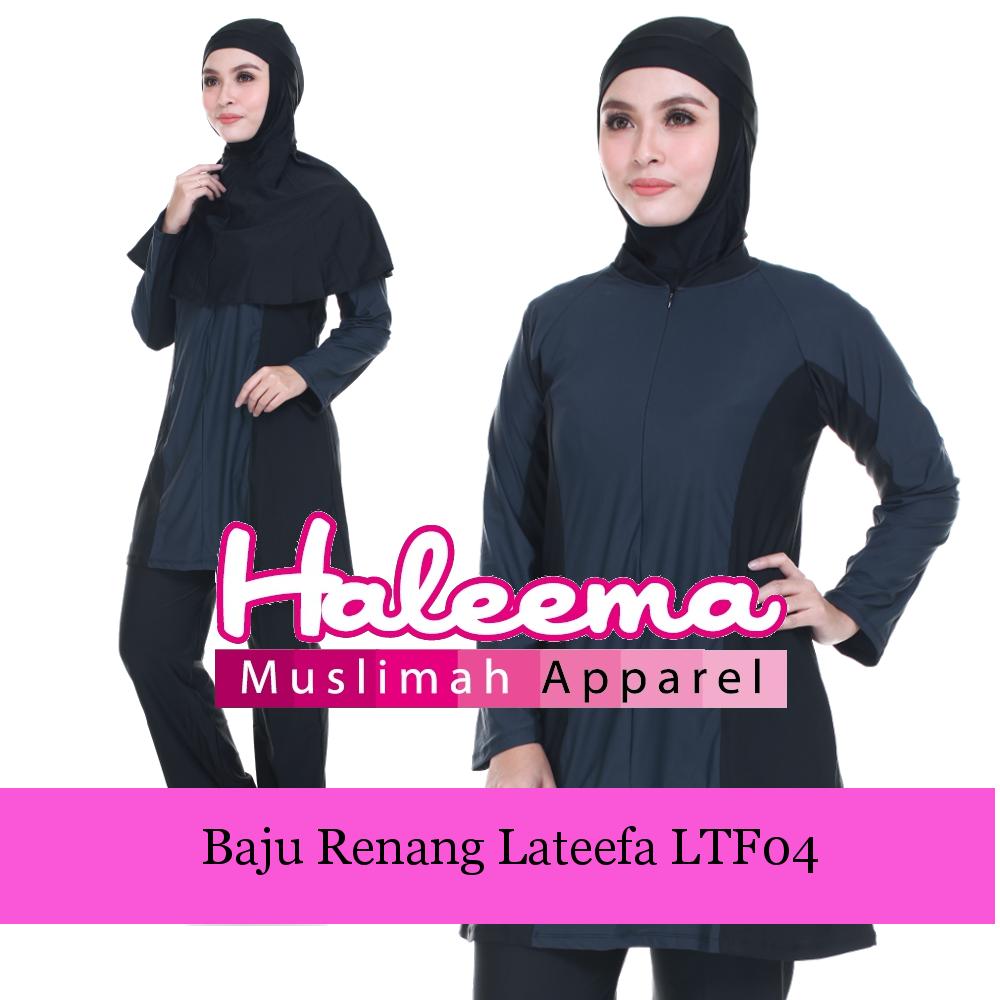 Baju Renang Muslimah Lateefa (Seluar Straight Cut)