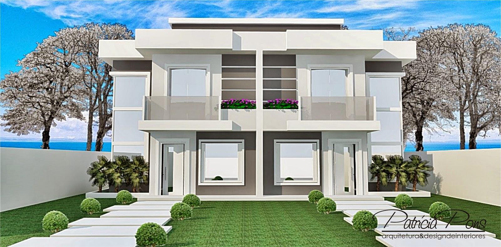 15 ideias de fachadas para sobrados pequenos | Construção