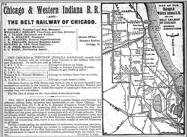 1906 The Official Railway Guide Freight Service Page 76
