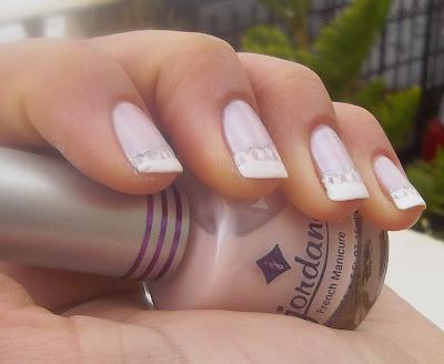 avidlian wedding lace nails