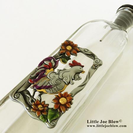 rooster oil bottles sold on www.littlejoeblow.com photo 1